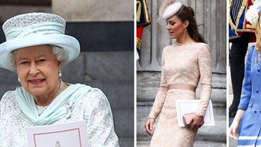 Herzogin Kate & Co.: Schick zu Ehren der Queen
