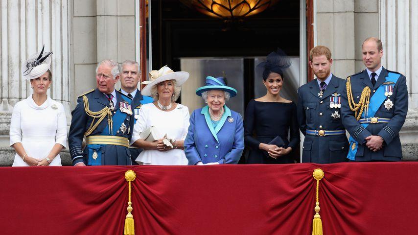 "Die Royals beim ""Trooping the Colour"" 2018"