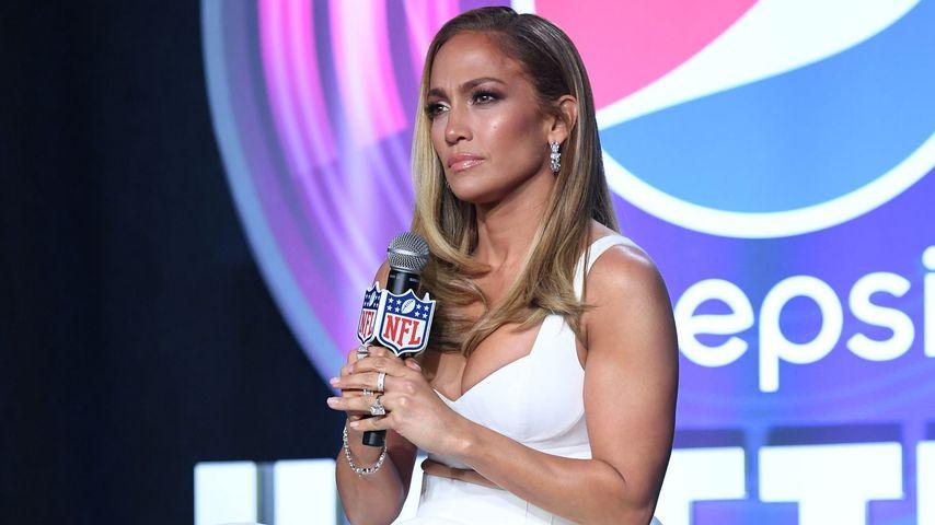 Die Schauspielerin Jennifer Lopez