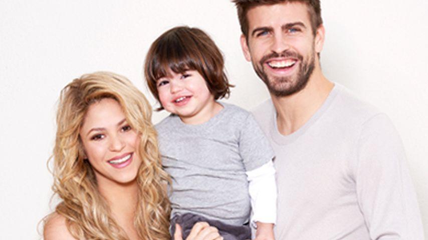 Strahlende Schwangere: Shakira & ihre süße Family