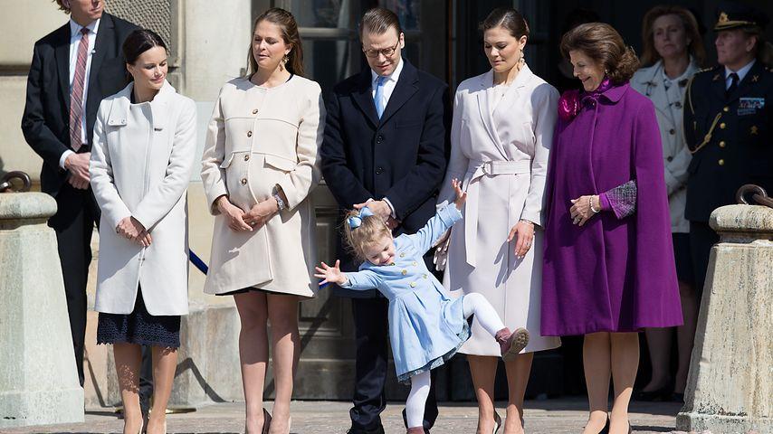 Madeleine von Schweden, Prinzessin Estelle von Schweden, Prinzessin Victoria von Schweden, Prinz Dan