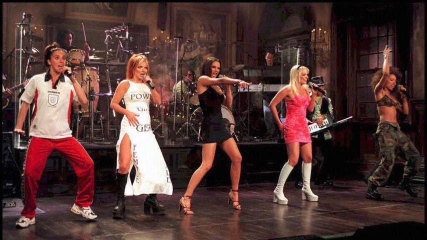 """Die Spice Girls bei """"Saturday Night Live"""" in New York"""