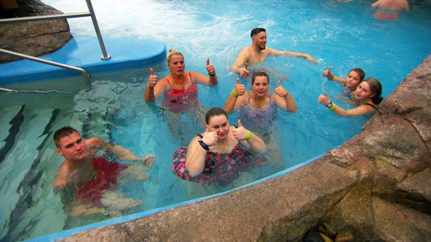 Die Wollnys beim exotischen Badeurlaub