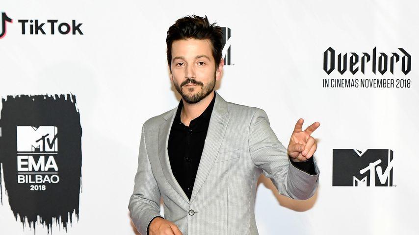 Diego Luna bei den MTV EMAs 2018