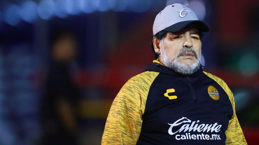 Diego Maradona im April 2017