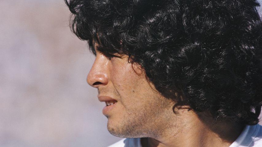 Diego Maradona im Jahr 1981