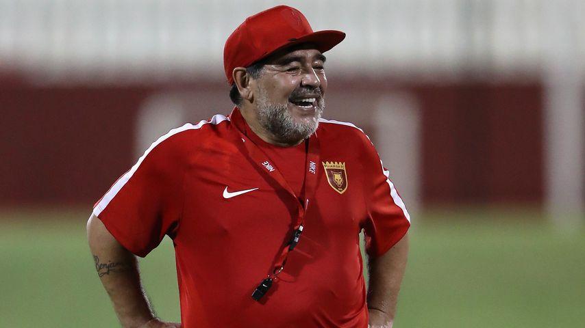 Diego Maradona im Juli 2017