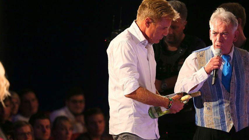 Supertalent: Besäuft sich Bohlen im TV mit Wein?