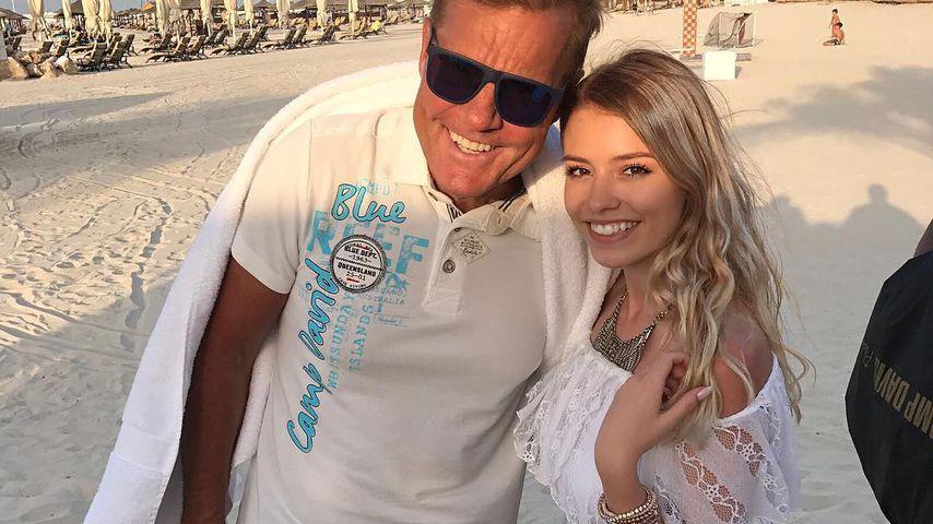 Dieter Bohlen und Bianca Jenny in Dubai