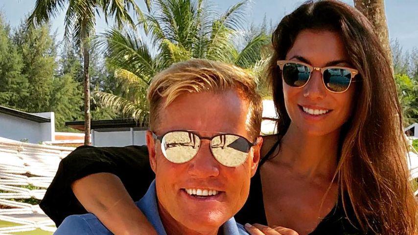 Dieter Bohlen und seine Freundin Carina Walz in Thailand