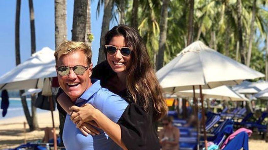 Dieter und Carina Bohlen in Thailand