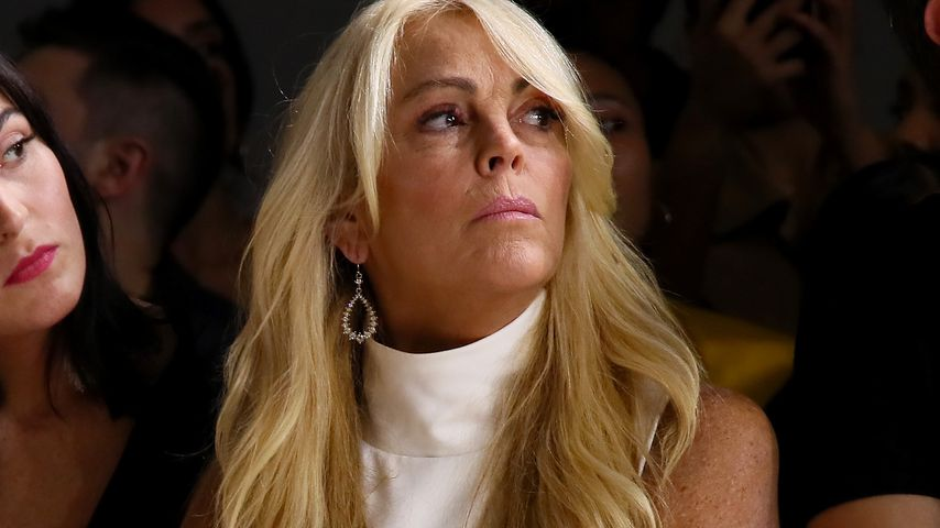 Dina Lohan auf der New York Fashion Week 2018