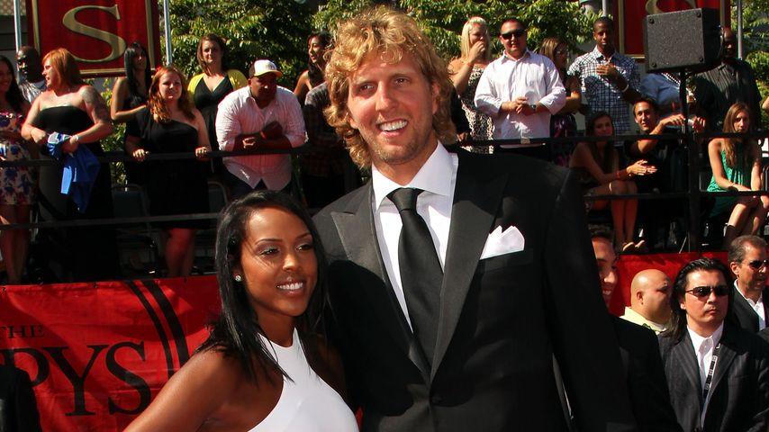 Jessica Olsson und Dirk Nowitzki
