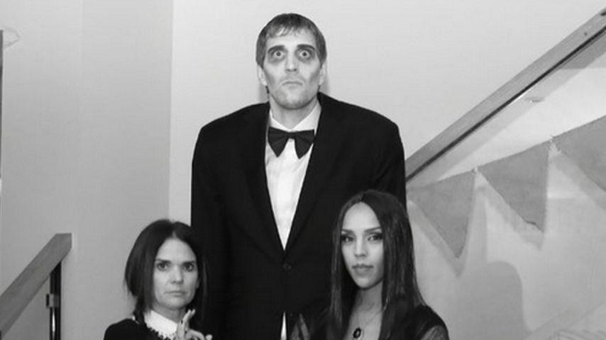 Addams Family: Dirk Nowitzki und seine Frau überzeugend echt