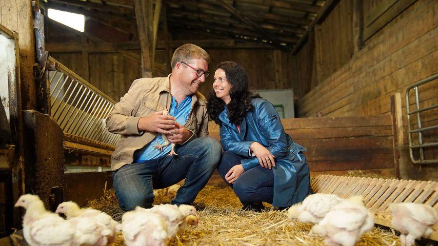 """Dirk und Lena bei """"Bauer sucht Frau"""""""