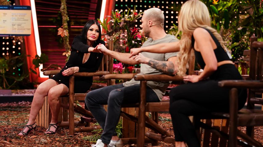Djamila, Filip und Xenia, Dschungelshow-Kandidaten