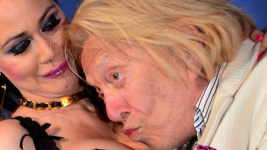 Djamila Rowe mit Rolf Eden