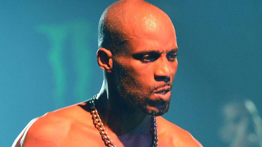 Rapper DMX bei einem Gig