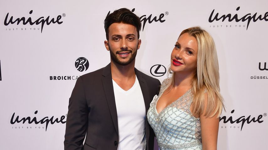 Domenico De Cicco und Evelyn Burdecki bei der Unique Show in Düsseldorf