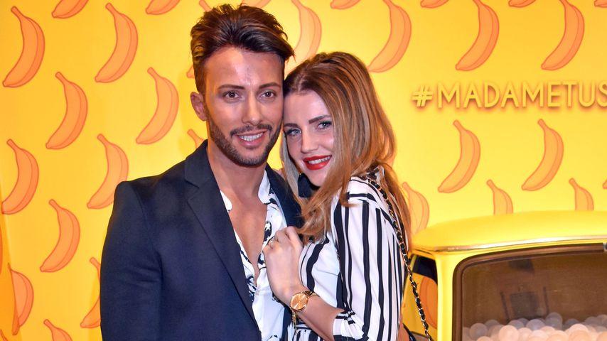 Domenico De Cicco und seine Freundin Julia auf einem Event