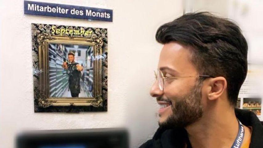 Im Normalo-Job: Domenico De Cicco ist Mitarbeiter des Monats