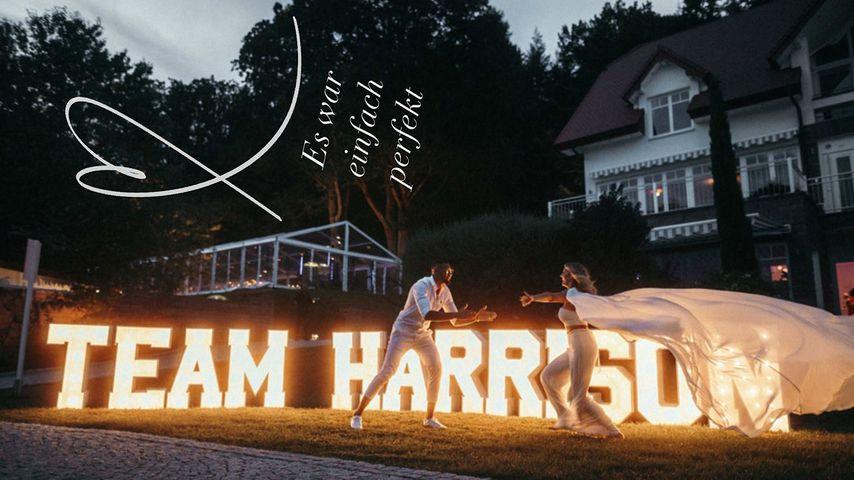 Dominic und Sarah Harrison im August 2019