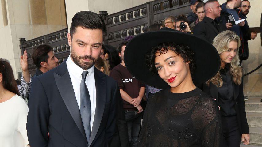 Dominic Cooper und Ruth Negga auf der Paris Fashion Week