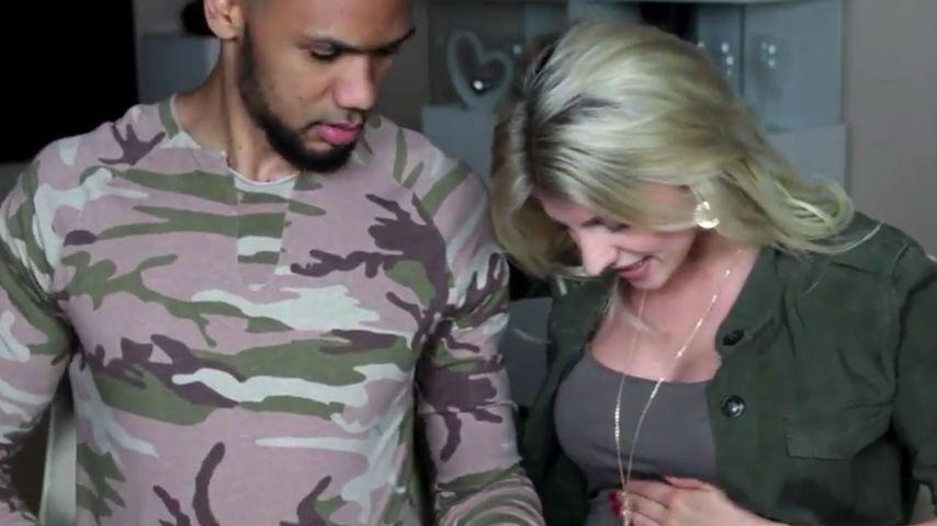 1. Baby-Video: Sarah Nowak zeigt Bauch und verplappert sich!