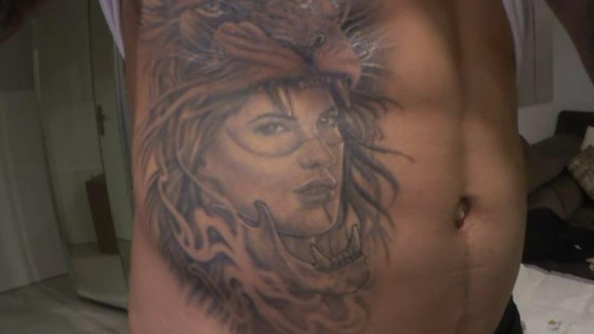Dominic Harrisons Sarah Tattoo