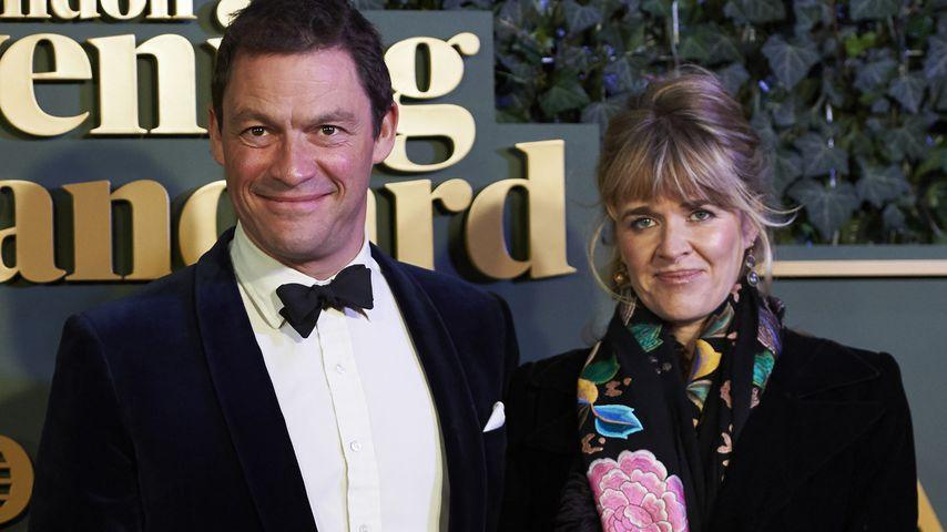 Dominic West und Catherine FitzGerald bei den London Evening Standard Theatre Awards 2015