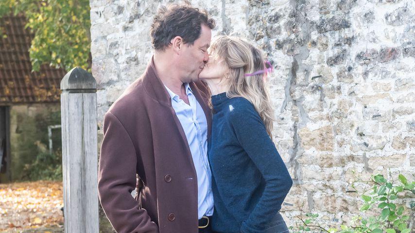 Dominic West und seine Frau Catherine FitzGerald