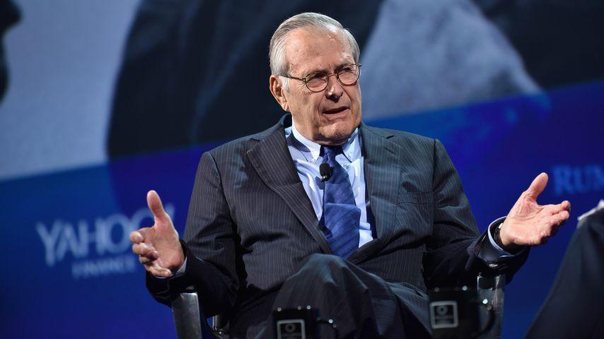 Ex-US-Verteidigungsminister Donald Rumsfeld ist verstorben