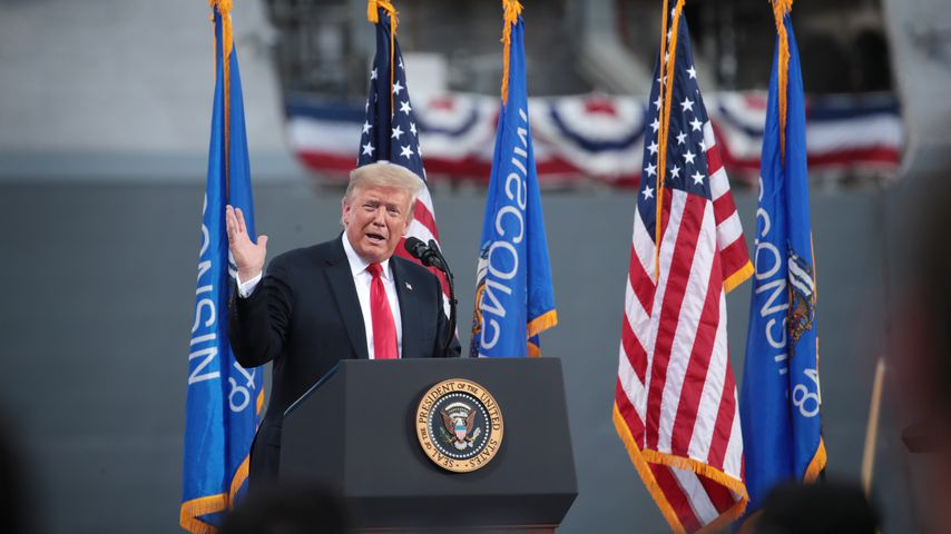 Donald Trump in Marinette, 2020