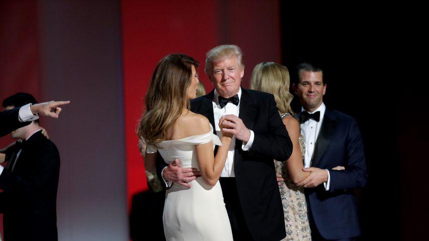 Das Ehepaar Trump Junior auf dem Amtseinführungsball von Donald Trump Senior