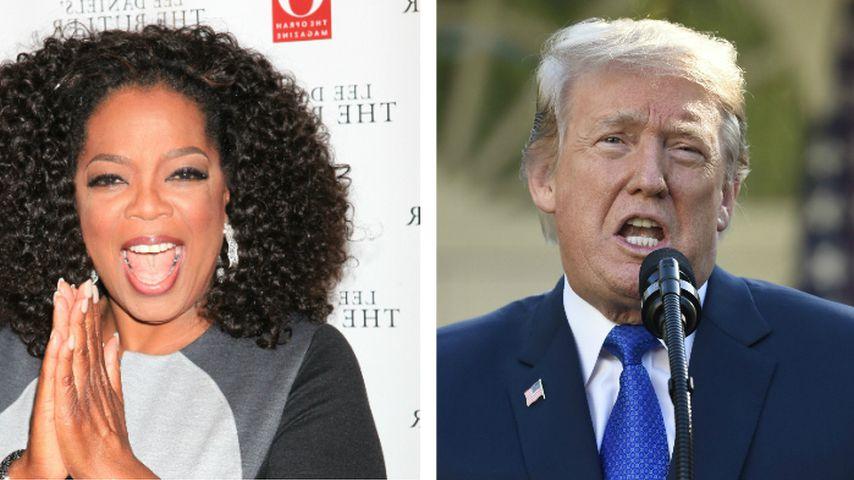 Oprah als Wahlgegnerin? Donald Trump gibt sich siegessicher!