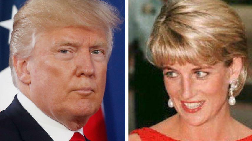 Kurz nach ihrem Tod: Trump hätte gerne mit Diana Sex gehabt
