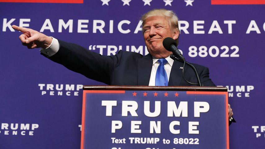 Der 45. Präsident der Vereinigten Staaten von Amerika – Donald Trump