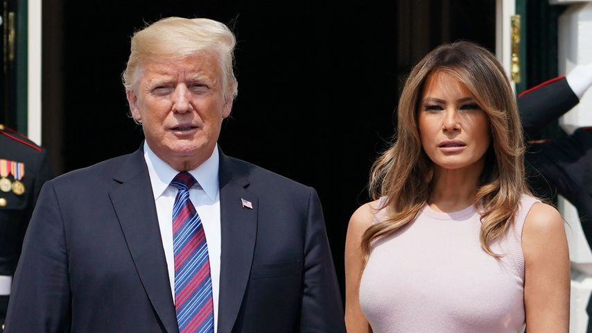 Donald und Melania Trump in Washington