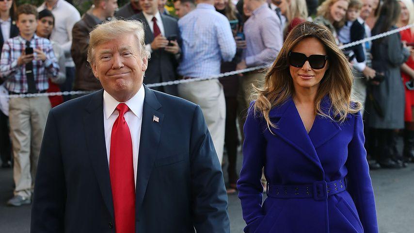 Wegen Trumps Wahlsieg: Ehefrau Melania brach in Tränen aus!
