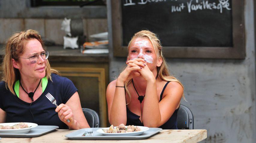 Doreen Dietel und Evelyn Burdecki im Dschungelcamp 2019