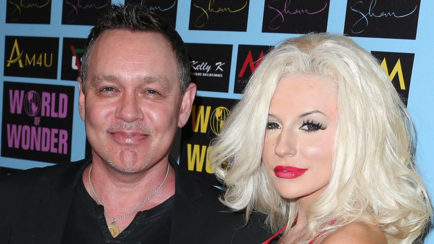 Doug Hutchison und Courtney Stodden