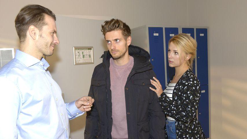 GZSZ: Kokain-Test positiv! Dr. Benedikt verlässt Krankenhaus
