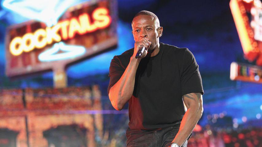 Dr. Dre beim Coachella-Festival in Kalifornien