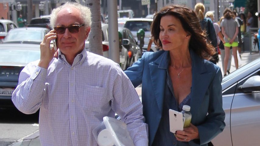 Dr. Robert Hugh Gerner und Janice Dickinson in Beverly Hills