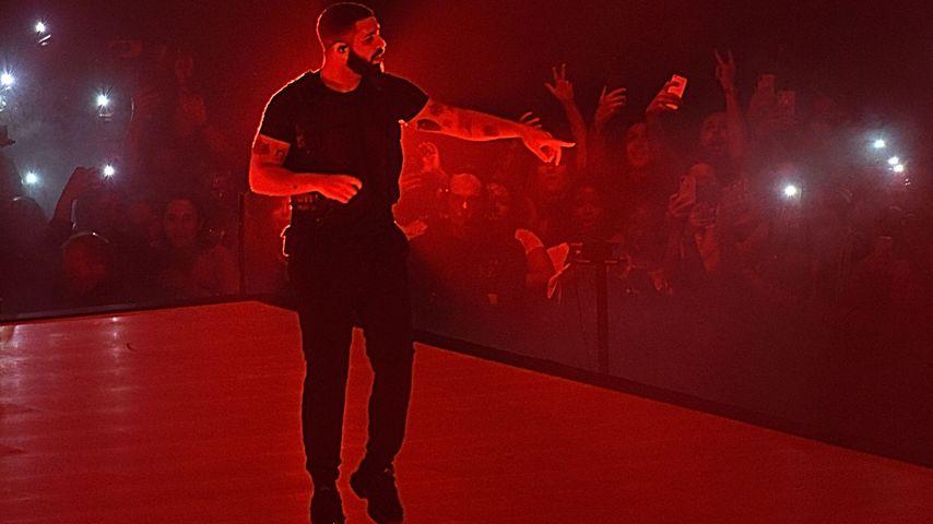 Drake bei einem Auftritt in New York City