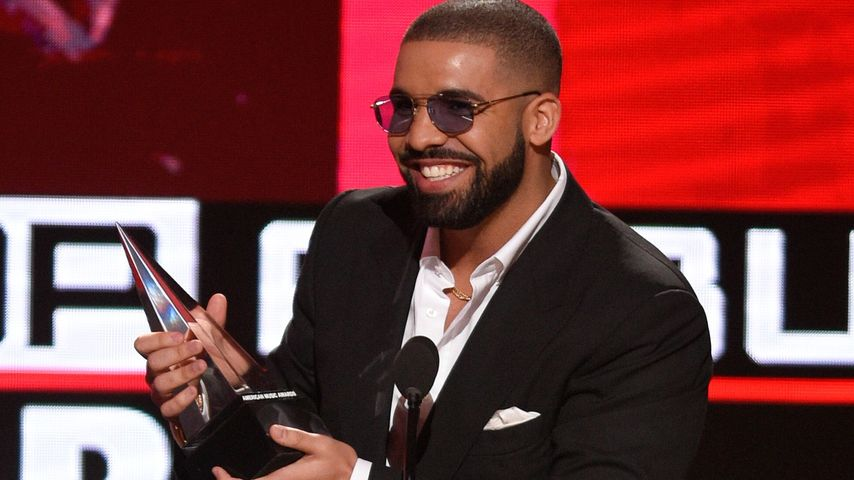 Drake bei der Verleihung der 2016 American Music Awards im Microsoft Theatre in Los Angeles