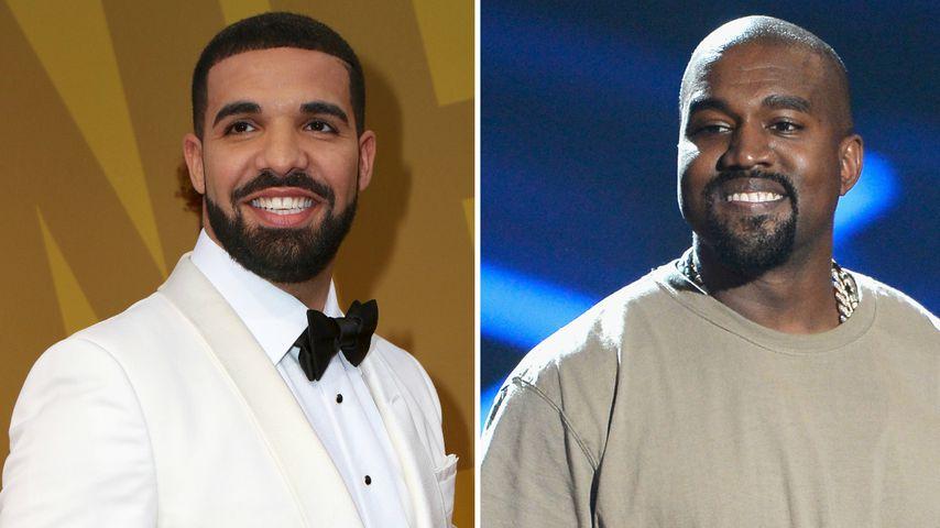 Indiz: Arbeiten Drake und Kanye West an gemeinsamen Songs?