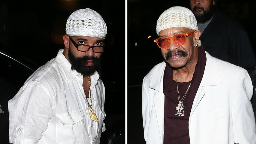 Rapper Drake verkleidete sich zu Halloween als sein Vater