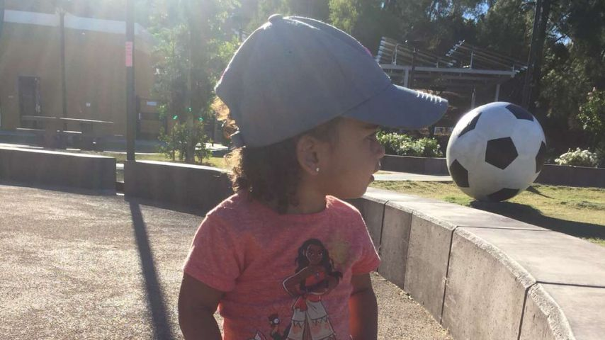 Süßer Mini-Kicker: Dream Kardashian wird bald zwei Jahre alt