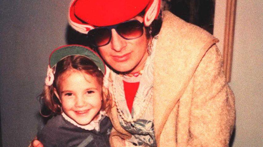 Drew Barrymore und Steven Spielberg, 1982